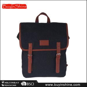 School Style Double Belts Women Backpack Bag