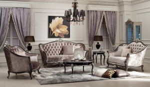 Classical Wooden Bedroom Furniture Sofa Set pictures & photos