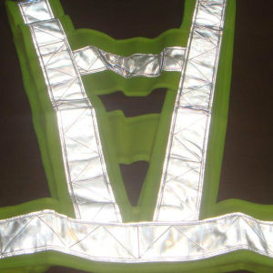 High Visible Traffic LED Safety Vest for Roadway pictures & photos
