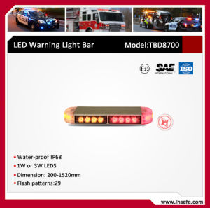 Slim LED Ambulance Warning Light Bar (TBD8700) pictures & photos