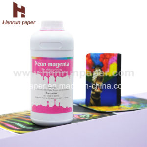 Neon Fluorescent Dye Sublimation Ink Yellow / Magenta Ink Comparison with Kiian/Sawgrass/J-Teck, pictures & photos