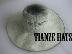 Machine-Made Paper Straw Hat Body pictures & photos