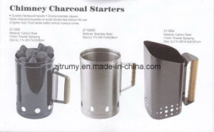 Hand Steel Charcoal Chimney Starter pictures & photos