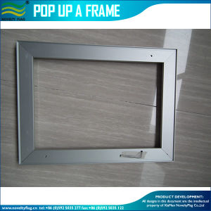 Custom Aluminum Snap Frame Wall Mounted Poster Frame (M-NF22M011026) pictures & photos