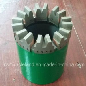 Nq Gear Wheel Profile Impregnated Diamond Core Drill Bits (14mm) pictures & photos