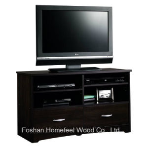 Classy Living Room Furniture Wooden TV Stand with 2 Drawers pictures & photos