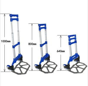 Aluminum Step Ladder Trolley with 2 Wheels pictures & photos