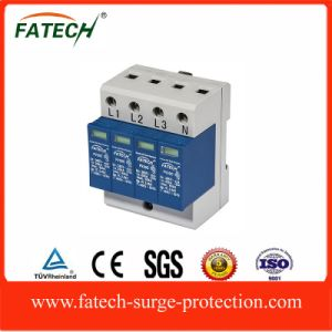 china supplier class c three phase surge lightning arrester SPD Imax60KA pictures & photos