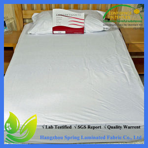 Waterproof 100% Polyester Jersey Waterproof Mattress Pad pictures & photos