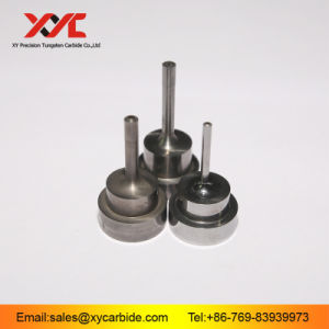 Tungsten Carbide Lower Punches with Pin Head and Air Hole pictures & photos