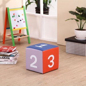 PVC Children Chair/Kids Stool with Numbers (SXBB-142) pictures & photos