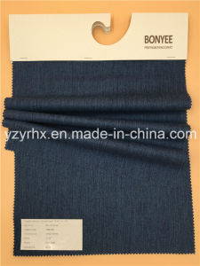 Finished Fabric Cotton / Polyester Fibre Twill Jeans Blue pictures & photos