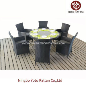 Wicker Table & Chair for Outdoor (1308) pictures & photos