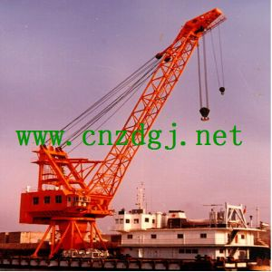 China Manufacturer Hydraulic Boat Capture Crane for Sale pictures & photos