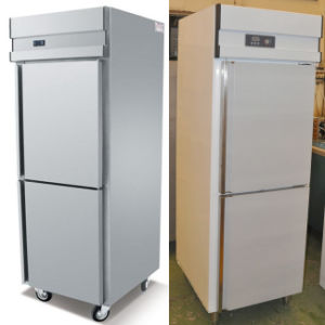 Single Door Upright Kitchen Refrigerator pictures & photos
