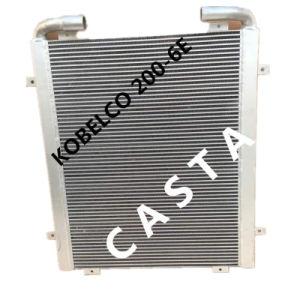 Kobelco Excavator Sk 200-6e Yn05p00035s002 Oil Cooler Aluminum Radiator Assy pictures & photos