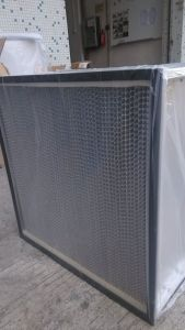 High Efficiency Fiberglass Pleat HEPA Filter pictures & photos