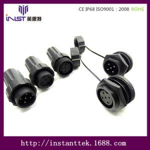 Inst Circular Connector Gold Pin Mount Circular DIN Connectors 5 Pin Male