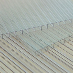 Clear Double Wall Polycarbonate Sheet for Roofing Sheets