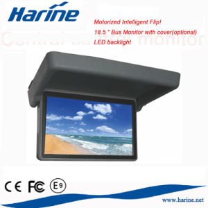 Car Bus Coach Auto Flip 19′′ LCD TV Screen Monitor for Video Display    pictures & photos