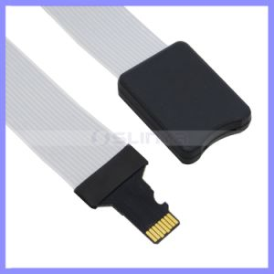 for Car GPS and Car DVR Support 32GB 48cm TF to Micro SD TF Flex Zip Extension Cable Memory Card Extender Cord Linker pictures & photos