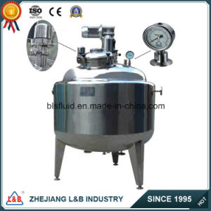 Stainless Steel High Pressure Electric Material Mixing Tank pictures & photos