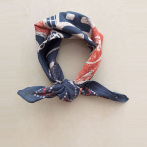 Fashion 100% Cotton Square Small Scarves for Children Baby Headband Scarf pictures & photos