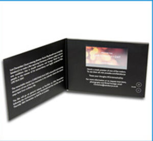 Custom LCD Screen Video Card for Advertisement pictures & photos