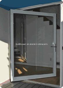 Double Glazing Aluminium Pivot Doors pictures & photos