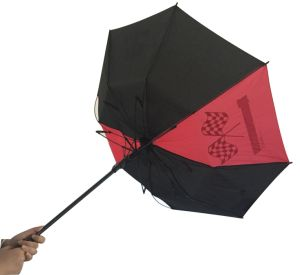 Auto Open Windproof Straight Umbrella (SU032) pictures & photos