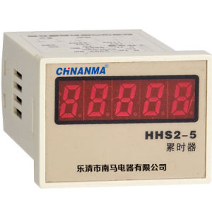 Accumulative Counting Digital Display Time Relay (HHS2-5 (JS48S-44L)) pictures & photos