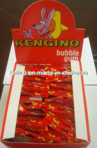 200PCS Tutti Frutti Flavor Stick Kengino Bubble Gum with Tattoo in Box pictures & photos