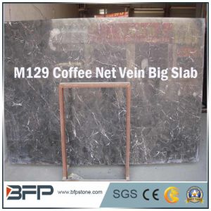 Coffee Net Vein Marble Stone Slabs/Marble Tiles pictures & photos