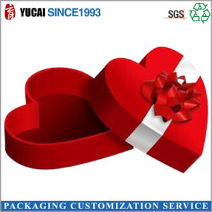 Red Love-Shaped Gift Box Paper Box pictures & photos
