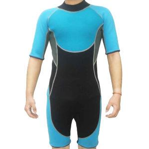Short Neoprene Nylon Surfing Wetsuit /Swimwear/Sports Wear (HX15S11) pictures & photos