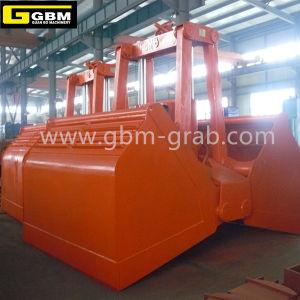 Gbm Motor Hydraulic Grab Bucket Hydraulic Clamshell Grab Vessel Grab Bucket pictures & photos