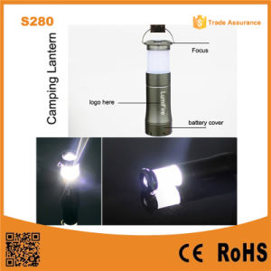 S280 3AAA Dry Battery Source Camping Light Small LED Camping Lantern pictures & photos