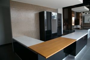 European Style MDF Kitchen Cabinet pictures & photos