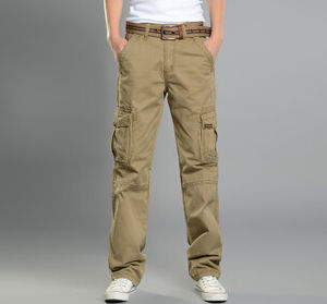 Summer Men Cargo Pants Loose Classic Type with High Quality pictures & photos