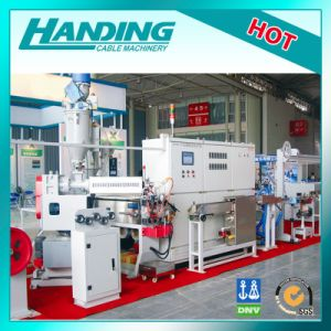 Three Layer Co-Extrusion Double Color Wire Cable Extruder Extrusion Production Line (FPLM) pictures & photos