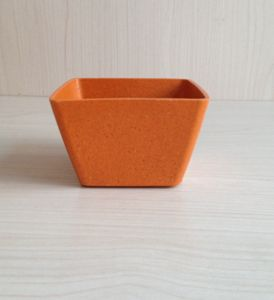 Recycled Bamboo Fiber Flower Pot (BC-F1012) pictures & photos