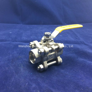 Heavy Type Carbon Steel 3 Pieces Socket Welding Ball Valve pictures & photos