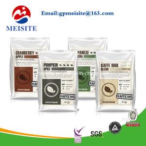 Resealable Powder Food Plastic Packaging Bag / Tea Powder Plastic Packaging Pouch with Zipper