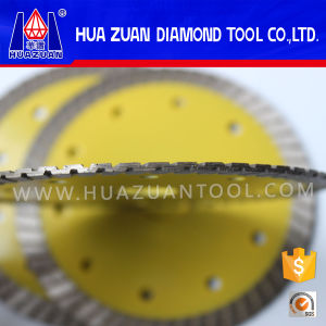 New Sharp Turbo Wave Diamond Cutting Blade pictures & photos