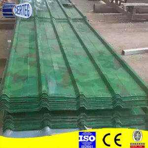 Camouflage Pattern Color Coated Steel Roof Sheet/Color Roofing Sheets pictures & photos