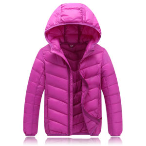 2016 Hot Sales Children Winter Ultra-Light Foldable Down Jacket 601 pictures & photos