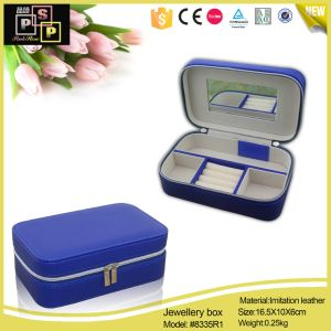 Leather Jewelry Paper Box, Custom Jewelry Boxes Packaging, Popular Style Make Paper Jewelry Box (8335R1) pictures & photos