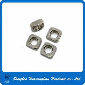 Customized DIN562 A2 70 M6 Square Nut pictures & photos