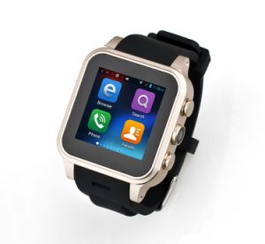 Android GPS Bluetooth Smart Watch with WiFi 3G SIM Card pictures & photos