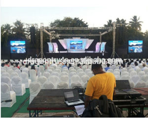 Factory Price Outdoor Event LED Truss Display, LED Screen Truss for Sale pictures & photos